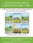 Image for Paginas de deberes para preescolar (El concepto del espacio : percepcion de cerca y lejos): Este libro contiene 30 fichas con actividades a todo color para ninos de 4 a 5 anos