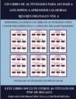 Image for Fichas de actividades de preescolar (Un libro de actividades para ayudar a los ninos a aprender las horas- Relojes digitales Vol 2) : Este libro contiene 30 fichas con actividades a todo color para ni