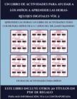 Image for Fichas de actividades para ninos (Un libro de actividades para ayudar a los ninos a aprender las horas- Relojes digitales Vol 2) : Este libro contiene 30 fichas con actividades a todo color para ninos