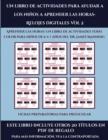 Image for Fichas preparatorias para preescolar (Un libro de actividades para ayudar a los ninos a aprender las horas- Relojes digitales Vol 2) : Este libro contiene 30 fichas con actividades a todo color para n