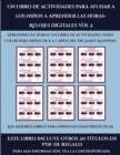 Image for Los mejores libros para ninos en edad preescolar (Un libro de actividades para ayudar a los ninos a aprender las horas- Relojes digitales Vol 2) : Este libro contiene 30 fichas con actividades a todo