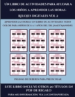 Image for Paginas de deberes para preescolar (Un libro de actividades para ayudar a los ninos a aprender las horas- Relojes digitales Vol 2) : Este libro contiene 30 fichas con actividades a todo color para nin