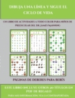 Image for Paginas de deberes para bebes (Dibuja una linea y sigue el ciclo de vida) : Este libro contiene 30 fichas con actividades a todo color para ninos de 5 a 7 anos