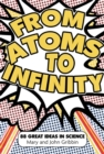 Image for From atoms to infinity  : 88 great ideas in science