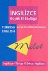 Image for Milet Large Portable Dictionary : Turkish - English, English - Turkish
