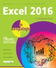 Image for Excel 2016 in easy steps