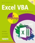 Image for Excel VBA in easy steps