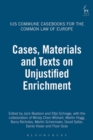 Image for Cases, materials and texts on unjustified enrichment : 3