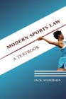 Image for Modern sports law  : a textbook