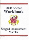 Image for GCSE OCR Science : Workbook - Staged Assessment - Year 10
