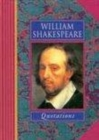 Image for William Shakespeare Quotations