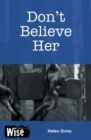 Image for Don't believe her