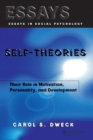 Image for Self-theories  : their role in motivation, personality, and development