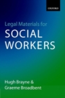 Image for Legal materials for social workers