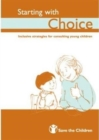 Image for Starting with choice  : inclusive strategies for consulting young children