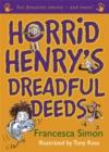 Image for Horrid Henry's dreadful deeds