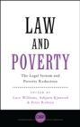 Image for Law and poverty  : the legal system and poverty reduction