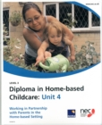 Image for Working in Partnership with Parents in the Home-based Setting : Unit 4