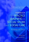 Image for Handbook for practice learning in social work and social care
