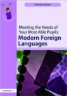 Image for Meeting the needs of your most able pupils in modern foreign languages