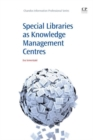 Image for Special libraries as knowledge management centres