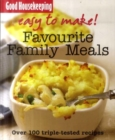 Image for Favourite family meals