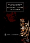 Image for Official History of the Great War : Principal Events 1914-1918