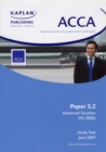 Image for Advanced taxation (Finance Act 2006) : Study Text