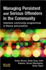 Image for Managing persistent and serious offenders in the community  : intensive community programmes in theory and practice