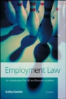 Image for Employment law  : an introduction for HR and business students