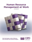Image for Human Resource Management at Work