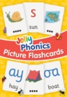 Image for Jolly Phonics Picture Flash Cards : in Precursive Letters