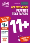 Image for 11+ Practice Test Papers (Get test-ready) Book 2, inc. Audio Download: for the CEM tests