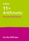 Image for 11+ arithmetic results booster for the CEM tests: Targeted practice workbook