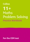 Image for 11+ problem solving results booster for the CEM tests: Targeted practice workbook