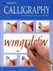 Image for Calligraphy  : techniques to get you started