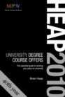 Image for Heap 2010  : university degree course offers