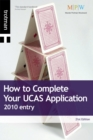 Image for How to complete your UCAS application  : 2010 entry