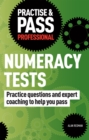 Image for Practice & pass professional numeracy tests