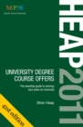 Image for Heap 2011  : university degree course offers