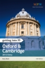 Image for Getting into Oxford & Cambridge  : 2012 entry