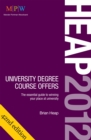 Image for Heap 2012  : university degree course offers