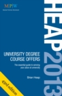 Image for Heap 2013  : university degree course offers