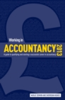 Image for Working in Accountancy 2013