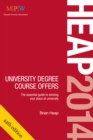 Image for Heap 2014  : university degree course offers