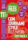 Image for Practise and pass 11+Test pack 1: CEM test papers