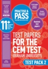 Image for Practise and pass 11+Test pack 2: CEM test papers