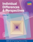 Image for As AQA (a) Individual Differences and Perspectives Teacher Resource Pack