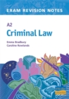 Image for A2 Criminal Law : Teacher Resource