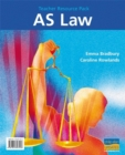 Image for AS Law Teacher Resource Pack